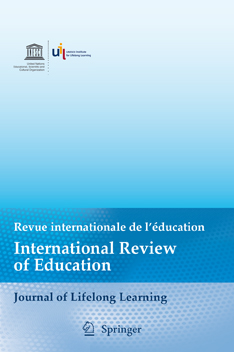 International Review of Education (IRE). Special issue: The Future of Lifelong Learning