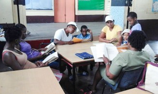 training in the learning centres in Grenada