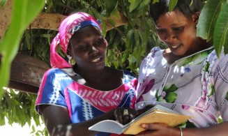 Women learning in Senegal