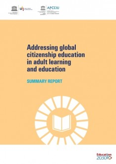 Addressing global citizenship education: summary report