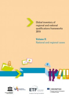 Global inventory of regional and national qualifications frameworks 2019, volume II: national and regional cases