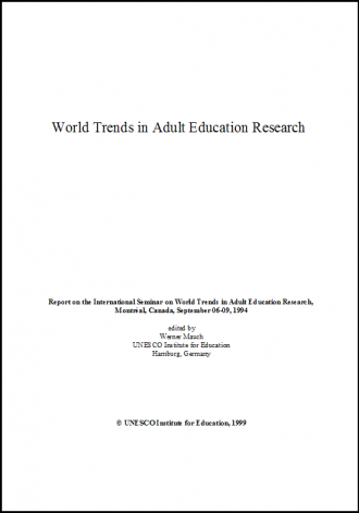 Remarkable Adult education research consider