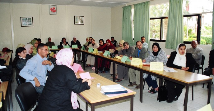 Functional Literacy Programme of Women of the Argan Cooperative