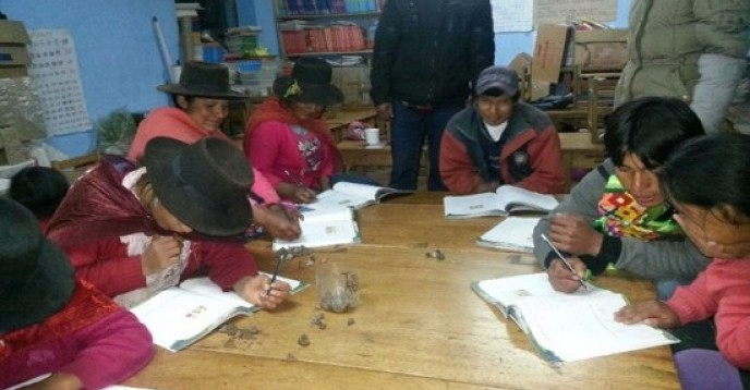 Literacy and Continuing Education in the Valley of the Apurimac, Ene y Mantaro Rivers, (Peru)