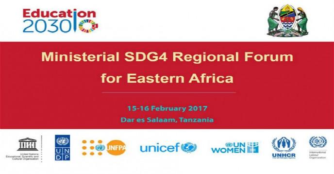 Ministerial SDG4 Regional Forum for Eastern Africa